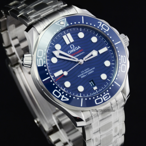 Omega Seamaster Diver 300 M 210.30.42.20.03.001 Unworn 05/2021 Brand New with Factory Stickers Box & Papers Men's Diving Sports For Sale Available Purchase Buy Online with Part Exchange or Direct Sale Manchester North West England UK Great Britain Buy Today Free Next Day Delivery Warranty Luxury Watch Watches