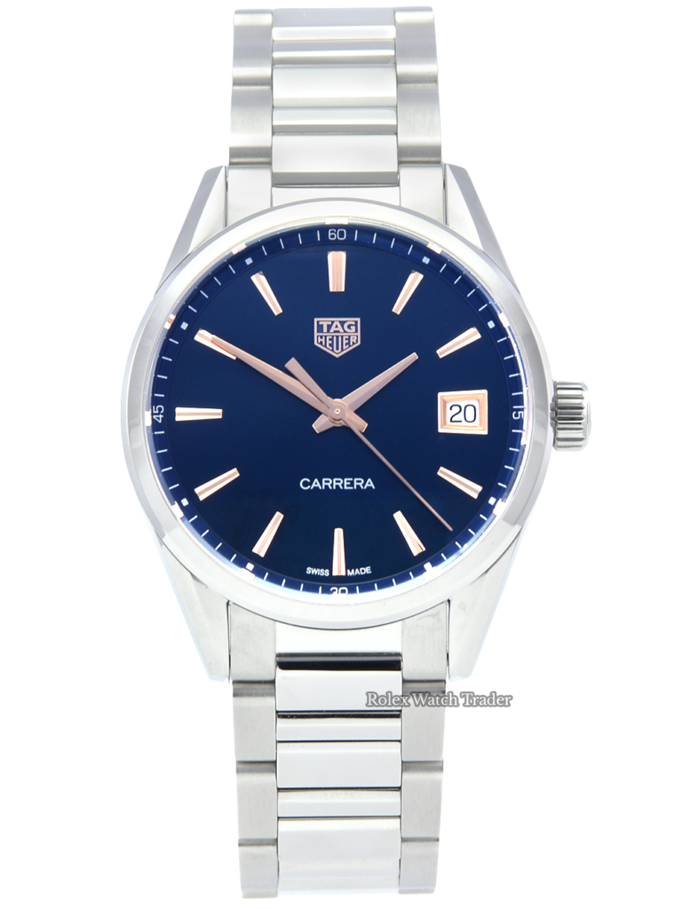 TAG Heuer Carrera WBK1312.BA0652 36mm Quartz Movement Stainless Steel Blue Dial Women's Ladies' For Sale Available Purchase Buy Online with Part Exchange or Direct Sale Manchester North West England UK Great Britain Buy Today Free Next Day Delivery Warranty Luxury Watch Watches