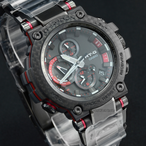Casio G-Shock Slimline MTG-B1000XBD-1AER Unworn 2021 Brand New with Stickers Multi Functional Black Resin Steel & Carbon Fibre Composition For Sale Available Purchase Buy Online with Part Exchange or Direct Sale Manchester North West England UK Great Britain Buy Today Free Next Day Delivery Warranty Luxury Watch Watches