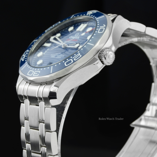 Omega Seamaster Diver 300M 210.30.42.20.03.001 Unworn 2021 Brand New Blue Dial Stainless Steel Men's 42mm For Sale Available Purchase Buy Online with Part Exchange or Direct Sale Manchester North West England UK Great Britain Buy Today Free Next Day Delivery Warranty Luxury Watch Watches