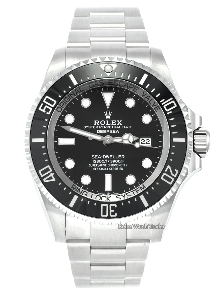 Rolex Sea-Dweller Deepsea 126660 Unworn 2021 Black Dial Stainless Steel 44mm Diver's Men's For Sale Available Purchase Buy Online with Part Exchange or Direct Sale Manchester North West England UK Great Britain Buy Today Free Next Day Delivery Warranty Luxury Watch Watches