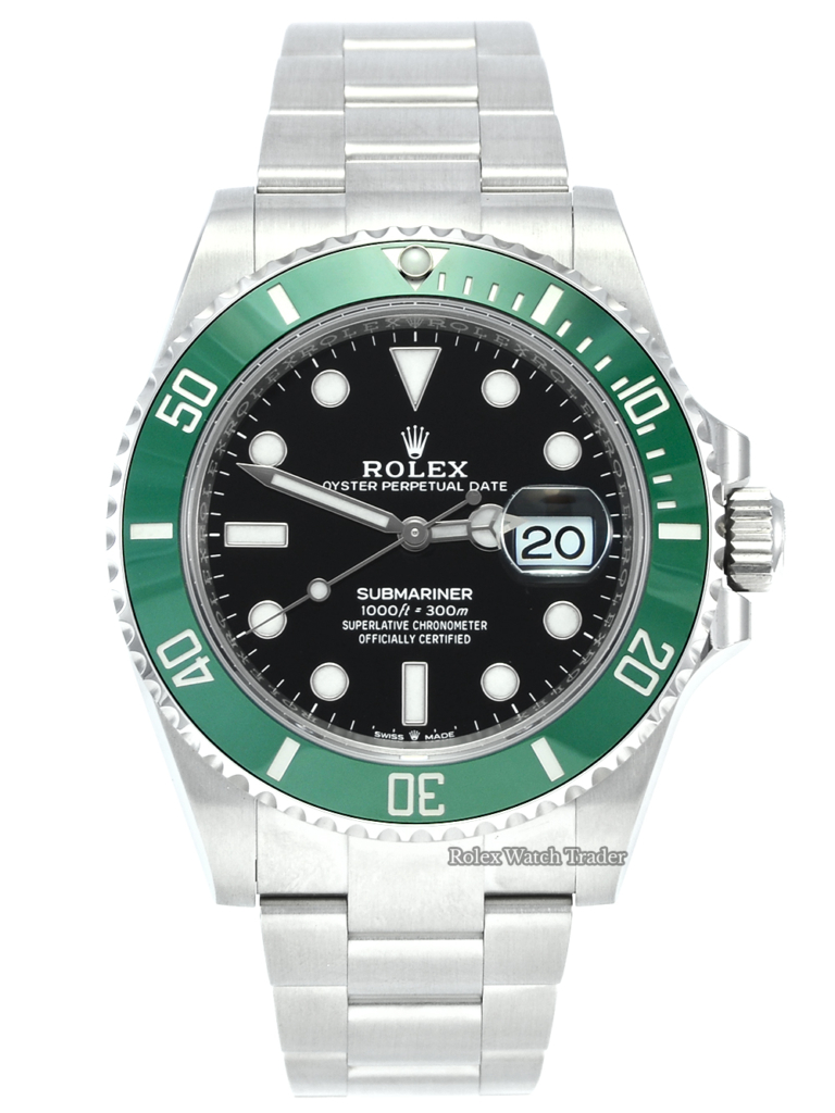 Rolex Submariner Date 126610LV Unworn 2020 Starbucks Kermit Brand New Black Dial Green Bezel Stainless Steel Oyster Sports Model For Sale Available Purchase Buy Online with Part Exchange or Direct Sale Manchester North West England UK Great Britain Buy Today Free Next Day Delivery Warranty Luxury Watch Watches