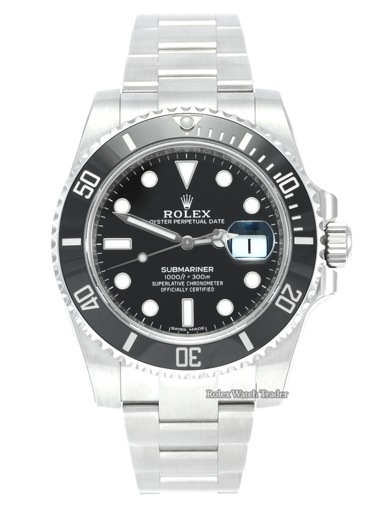 Rolex Submariner Date 116610LN Full Factory Stickers Unworn 2017 Brand New Box & Papers Men's 40mm Black Stainless Steel For Sale Available Purchase Buy Online with Part Exchange or Direct Sale Manchester North West England UK Great Britain Buy Today Free Next Day Delivery Warranty Luxury Watch Watches