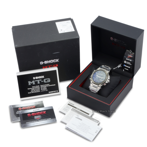Casio G-Shock MTG-B2000D-1AER Unworn 2021 Brand New MTG MT-G For Sale Available Purchase Buy Online with Part Exchange or Direct Sale Manchester North West England UK Great Britain Buy Today Free Next Day Delivery Warranty Luxury Watch Watches