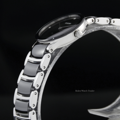 Rado Centrix Diamonds Quartz 23mm R30191712 Brand New Unworn March 2021 Stainless Steel & High Tech Ceramic Women's Ladies' For Sale Available Purchase Buy Online with Part Exchange or Direct Sale Manchester North West England UK Great Britain Buy Today Free Next Day Delivery Warranty Luxury Watch Watches