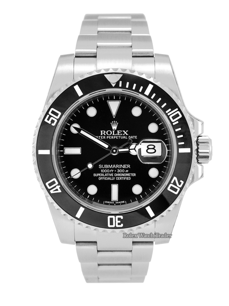 Rolex Submariner Date 116610LN SERVICED BY ROLEX with Service Stickers 2 Years Warranty Pre-Owned Second Hand Used For Sale Available Purchase Buy Online with Part Exchange or Direct Sale Manchester North West England UK Great Britain Buy Today Free Next Day Delivery Warranty Luxury Watch Watches