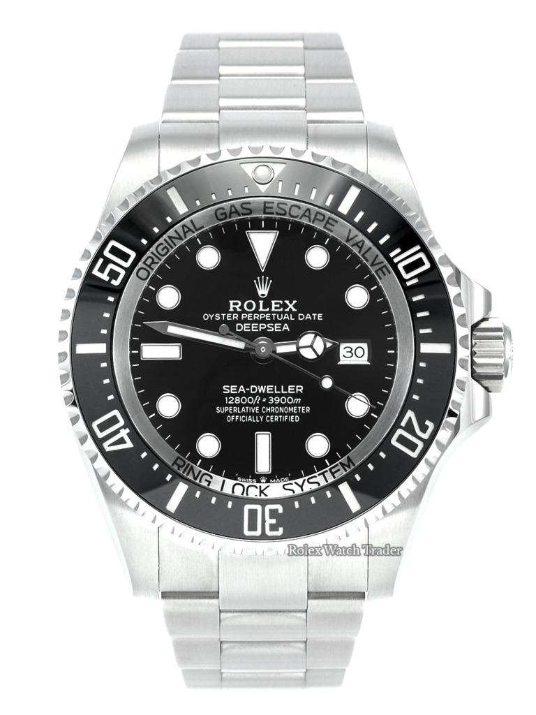 Rolex Sea-Dweller Deepsea 126660 Brand New Unworn June 2021 Diver's Diving Rotating Bezel Men's Stainless Steel For Sale Available Purchase Buy Online with Part Exchange or Direct Sale Manchester North West England UK Great Britain Buy Today Free Next Day Delivery Warranty Luxury Watch Watches