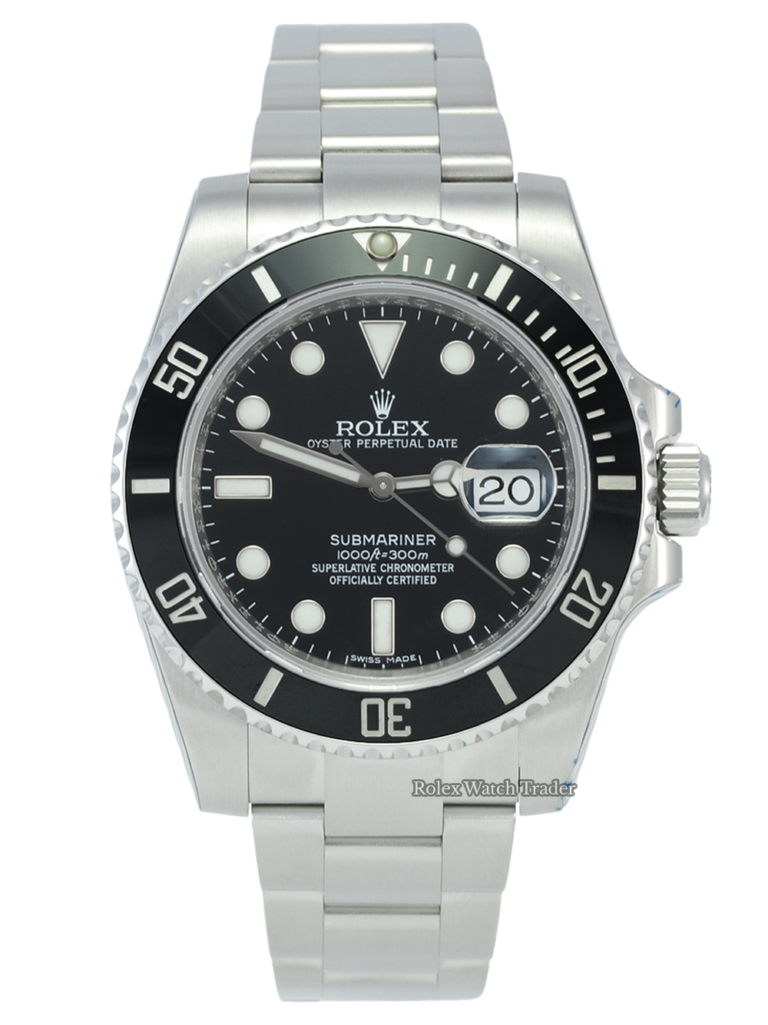 Rolex Submariner Date 116610LN SERVICED BY ROLEX 40mm Stainless Steel For Sale Available Purchase Buy Online with Part Exchange or Direct Sale Manchester North West England UK Great Britain Buy Today Free Next Day Delivery Warranty Luxury Watch Watches