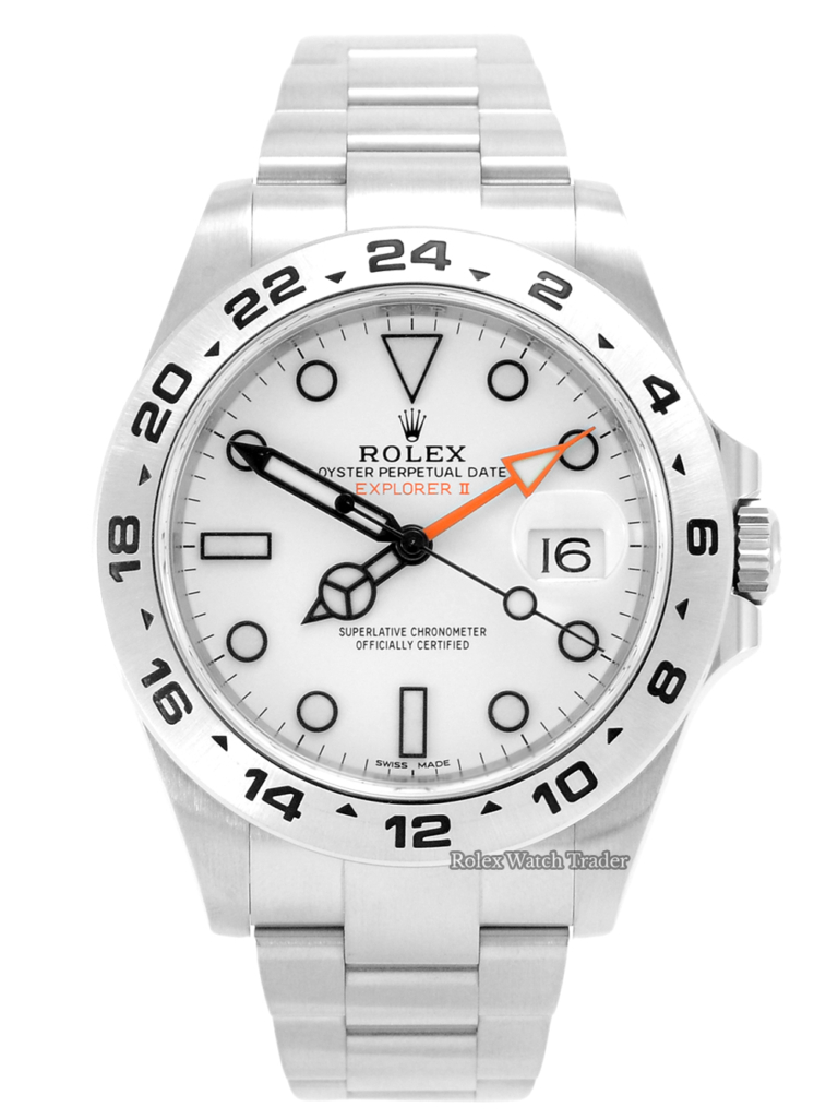 Rolex Explorer II 216570 For Sale Available Purchase Buy Online with Part Exchange or Direct Sale Manchester North West England UK Great Britain Buy Today Free Next Day Delivery Warranty Luxury Watch Watches