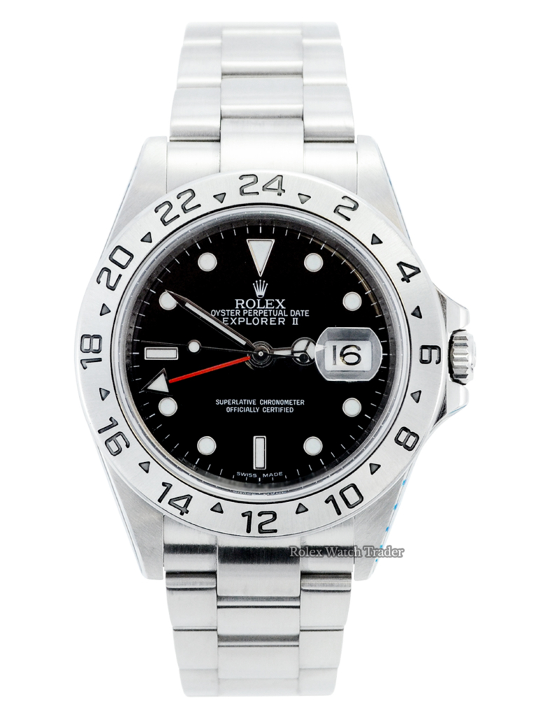 Rolex Explorer II 16570 For Sale Available Purchase Buy Online with Part Exchange or Direct Sale Manchester North West England UK Great Britain Buy Today Free Next Day Delivery Warranty Luxury Watch Watches