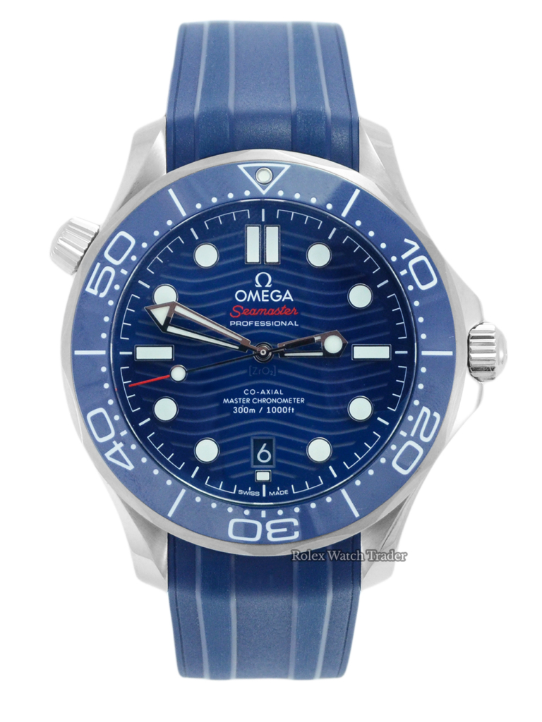 Omega Seamaster Diver 300 M 210.32.42.20.03.001 Unworn 2021 For Sale Available Purchase Buy Online with Part Exchange or Direct Sale Manchester North West England UK Great Britain Buy Today Free Next Day Delivery Warranty Luxury Watch Watches