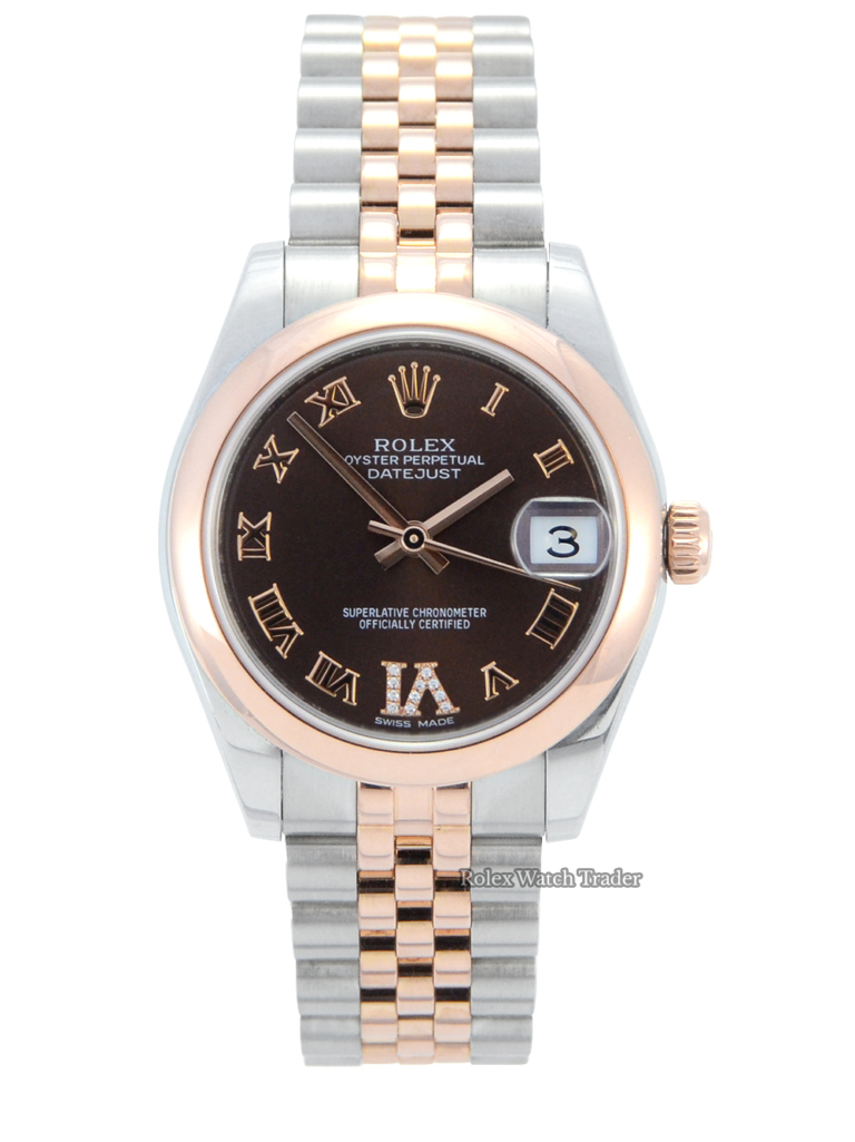 Rolex Datejust Lady 31mm 178241 Chocolate Dial For Sale Available Purchase Buy Online with Part Exchange or Direct Sale Manchester North West England UK Great Britain Buy Today Free Next Day Delivery Warranty Luxury Watch Watches