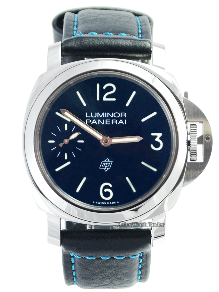 Panerai Luminor Blu Mare 44MM 2021 Includes Extra Straps For Sale Available Purchase Buy Online with Part Exchange or Direct Sale Manchester North West England UK Great Britain Buy Today Free Next Day Delivery Warranty Luxury Watch Watches
