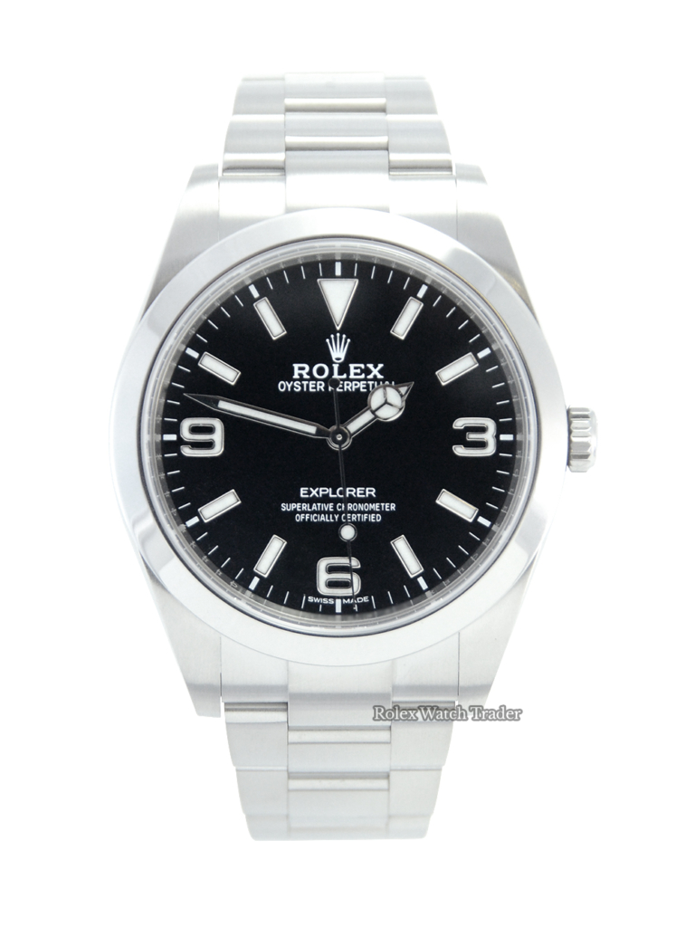 Rolex Explorer 214270 39MM UK 2020 MK2 Dial For Sale Available Purchase Buy Online with Part Exchange or Direct Sale Manchester North West England UK Great Britain Buy Today Free Next Day Delivery Warranty Luxury Watch Watches