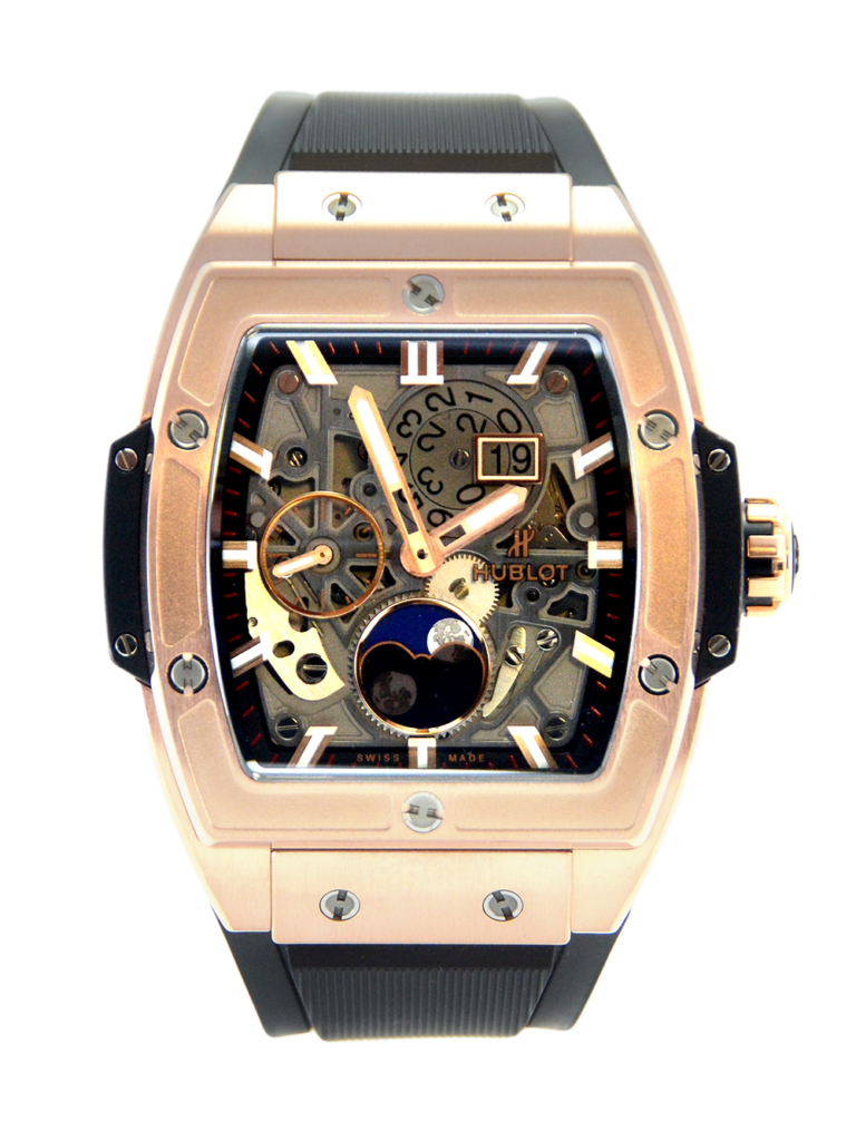 Hublot Spirit Of Big Bang Moonphase King Gold 647.OX.1138.RX For Sale Available Purchase Buy Online with Part Exchange or Direct Sale Manchester North West England UK Great Britain Buy Today Free Next Day Delivery Warranty Luxury Watch Watches