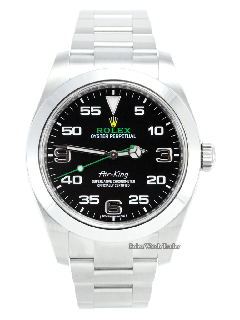 Rolex Air-King 116900 40mm Unworn 2021 U.K For Sale Available Purchase Buy Online with Part Exchange or Direct Sale Manchester North West England UK Great Britain Buy Today Free Next Day Delivery Warranty Luxury Watch Watches