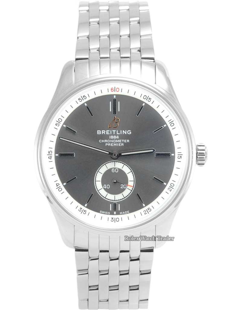 Breitling Premier Automatic 40 A37340351B1A1 Unworn 2021 For Sale Available Purchase Buy Online with Part Exchange or Direct Sale Manchester North West England UK Great Britain Buy Today Free Next Day Delivery Warranty Luxury Watch Watches