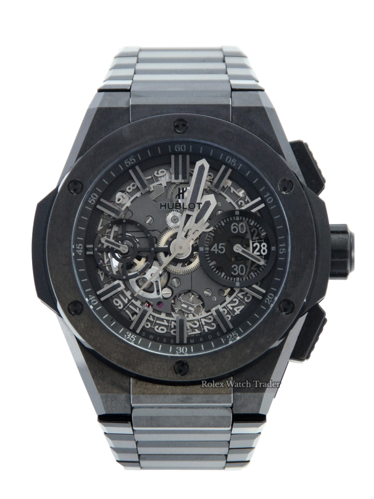 Hublot Big Bang Integral All Black 451.CX.1140.CX 42mm 2021 For Sale Available Purchase Buy Online with Part Exchange or Direct Sale Manchester North West England UK Great Britain Buy Today Free Next Day Delivery Warranty Luxury Watch Watches