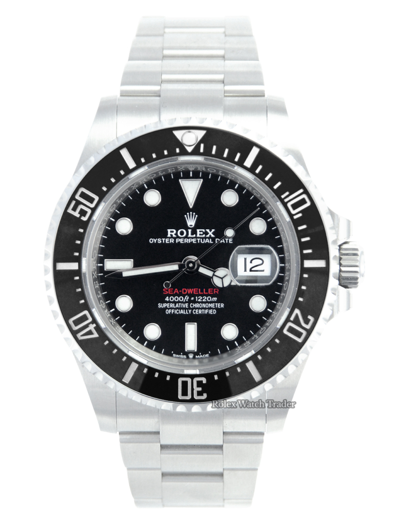 Rolex Sea-Dweller Deepsea 126660 2021 For Sale Available Purchase Buy Online with Part Exchange or Direct Sale Manchester North West England UK Great Britain Buy Today Free Next Day Delivery Warranty Luxury Watch Watches